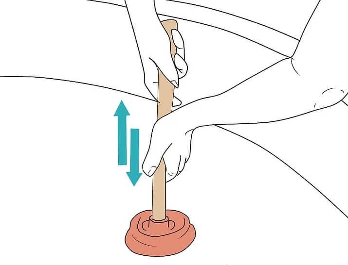 duguláselhárítás WC pumpával